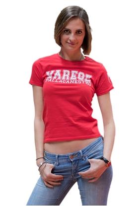 Immagine di T-shirt rossa Pall.Va - Donna