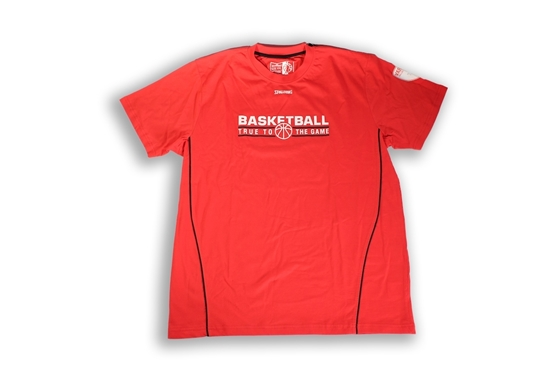 Immagine di T-shirt Spalding rossa - Adulto
