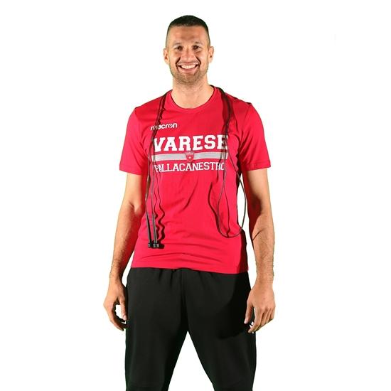 Immagine di T-shirt Pall. Va Rossa logo 2019/20 - Adulto