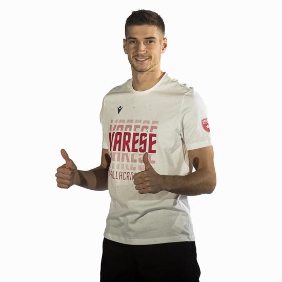 Immagine di T-shirt cotone bianca 2020/21 - adulto
